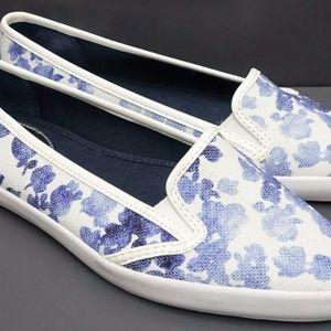 Michael Kors Slip On Canvas Floral Shoes Sz9 NEW